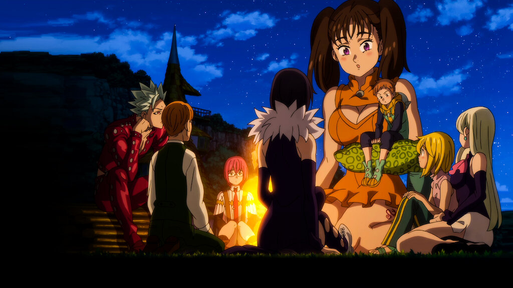 The Seven Deadly Sins The Movie Prisoners Of The Sky Netflix