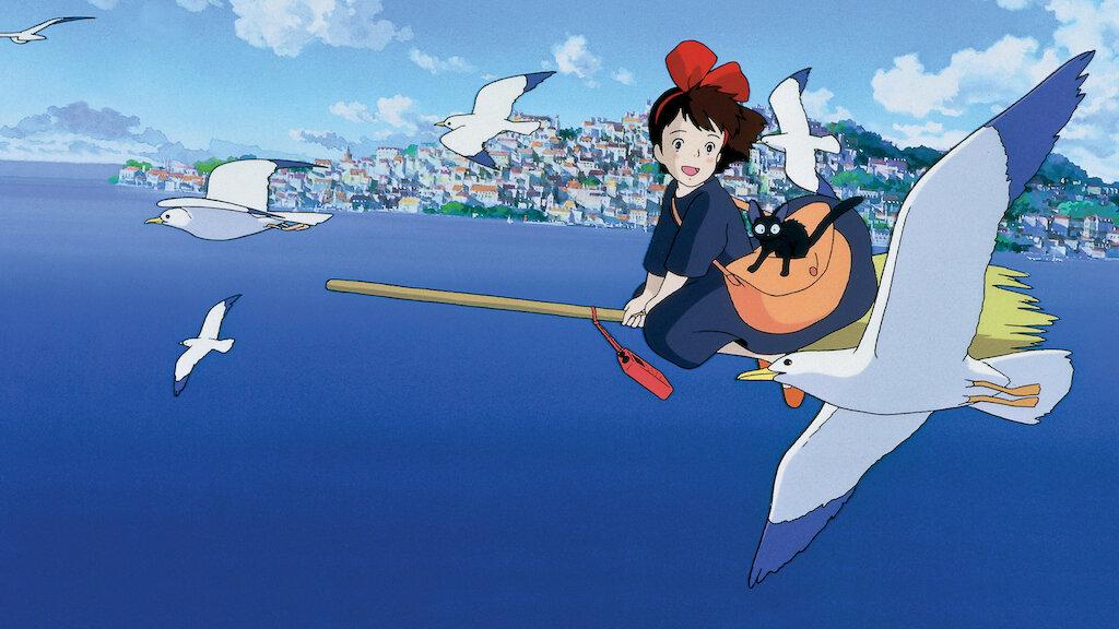 Kiki's Delivery Service, film keluarga terbaik di Netflix. (Foto: Netflix)
