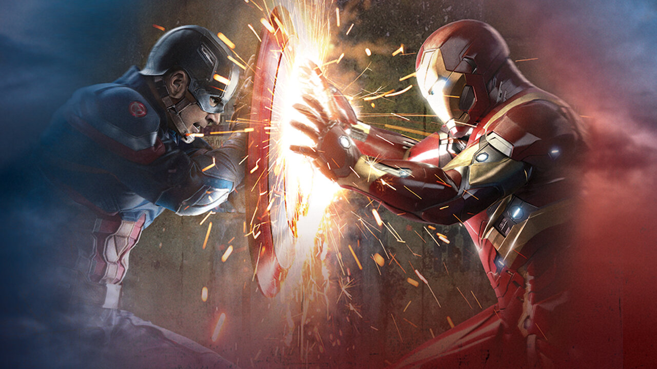 Captain America Civil War Netflix