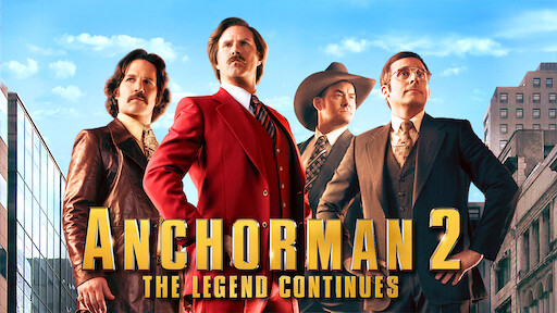 Anchorman The Legend Of Ron Burgundy Netflix